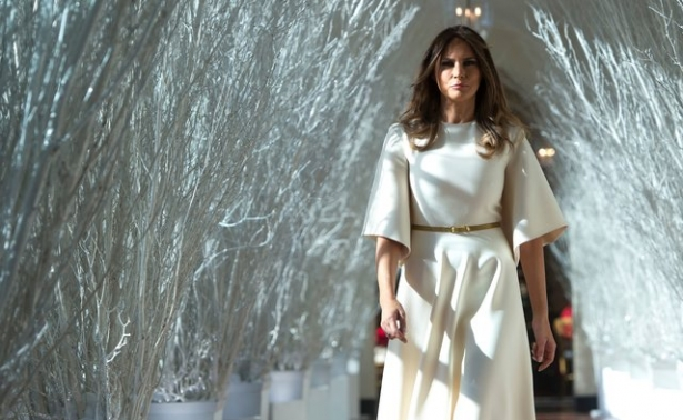 мелания трамп рождество