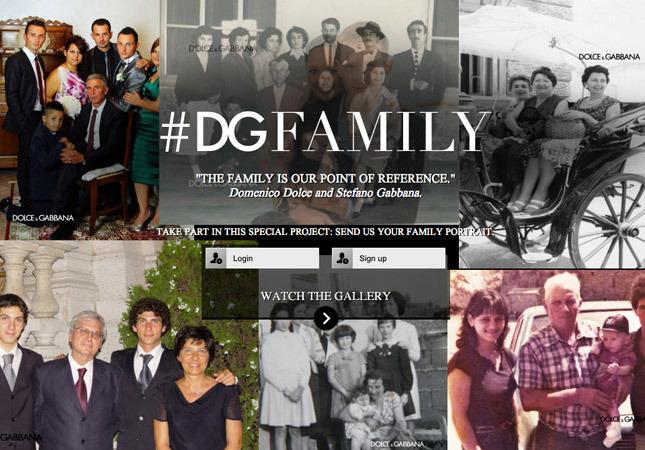 Dolce & Gabbana запустили глобальный семейный фотоальбом - фото №1