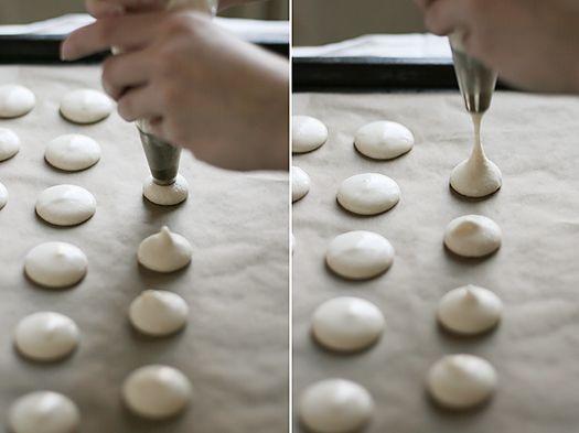 Как приготовить французские пирожные макарон - фото №1