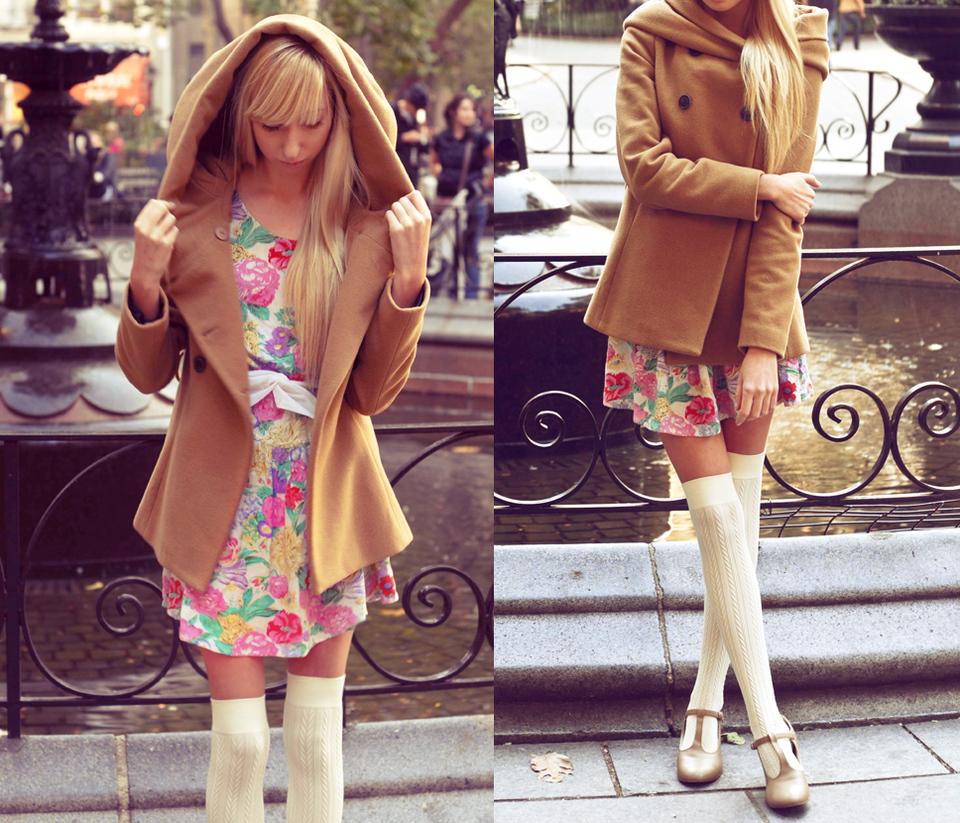Модные платья в цветочек сезона весна-лето 2013 - фото №7