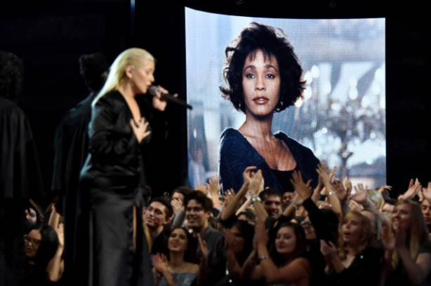 кристина агилера american music awards