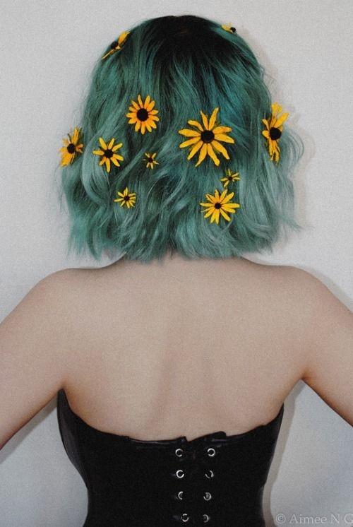 Как стать русалкой или красим волосы в главный цвет 2017 года - фото №13