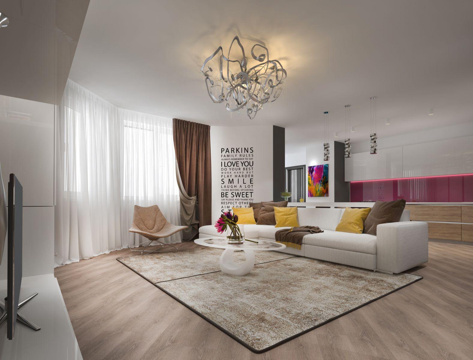 Как оформить квартиру-студию: 5 правил интерьера open-space - фото №4