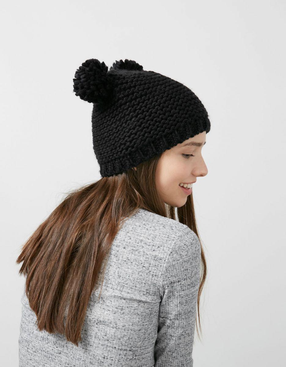Где купить шапку с помпоном на зиму