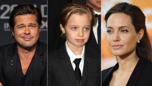 дочка Джоли и Питта