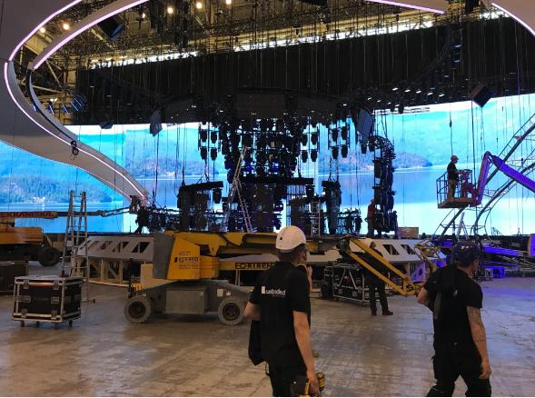 """Стало известно, как будет выглядеть главная арена """"Евровидения-2017"""" (ФОТО) - фото №1"""