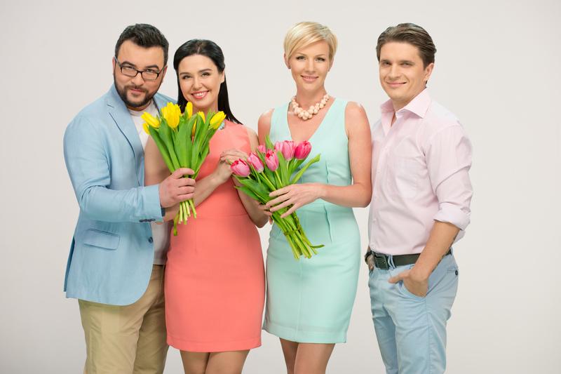 Телеведущая Людмила Барбир: Хочу иметь троих детей - фото №2