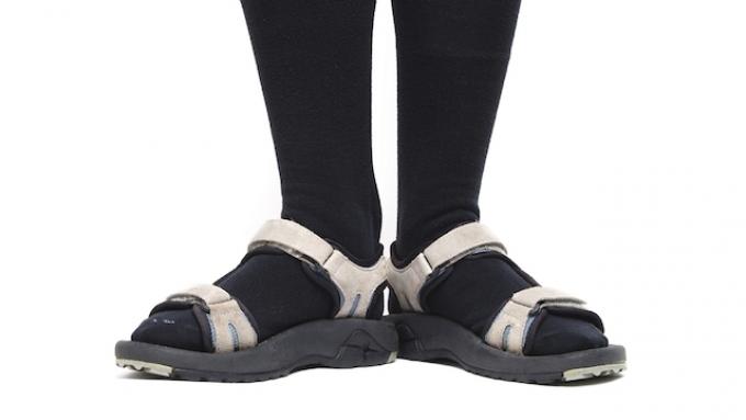 Советы Андре Тана: сандалии  сносками (фото)