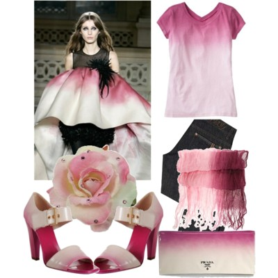 Модный тренд: градиент – переход цветов на одежде - фото №4