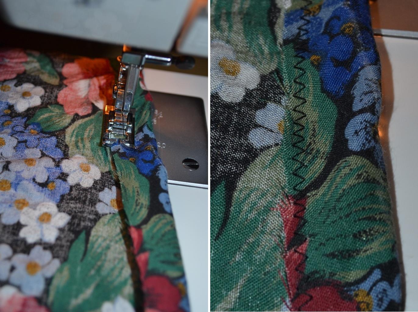 Мастер-класс стилиста: цветочные шорты из бабушкиной юбки - фото №3