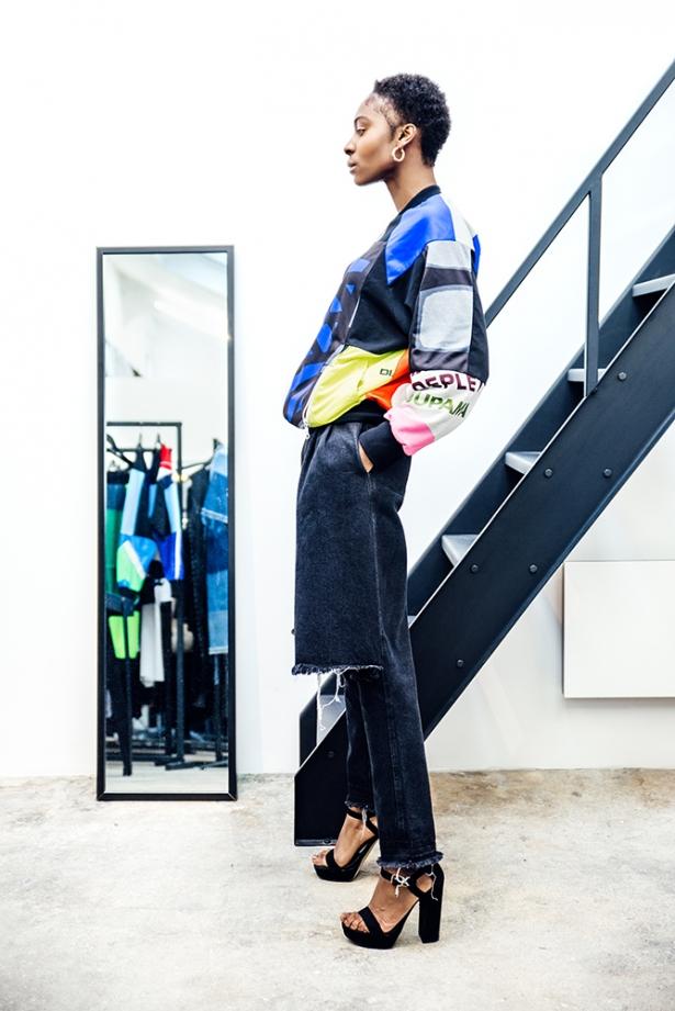 Reworked Sportswear: Ксения Шнайдер запускает линейку одежды из винтажных вещей - фото №3