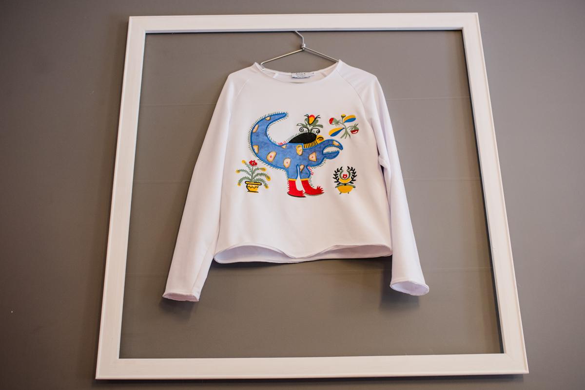 Капсульная коллекция Anna K, посвященная творчеству украинской художницы Марии Примаченко