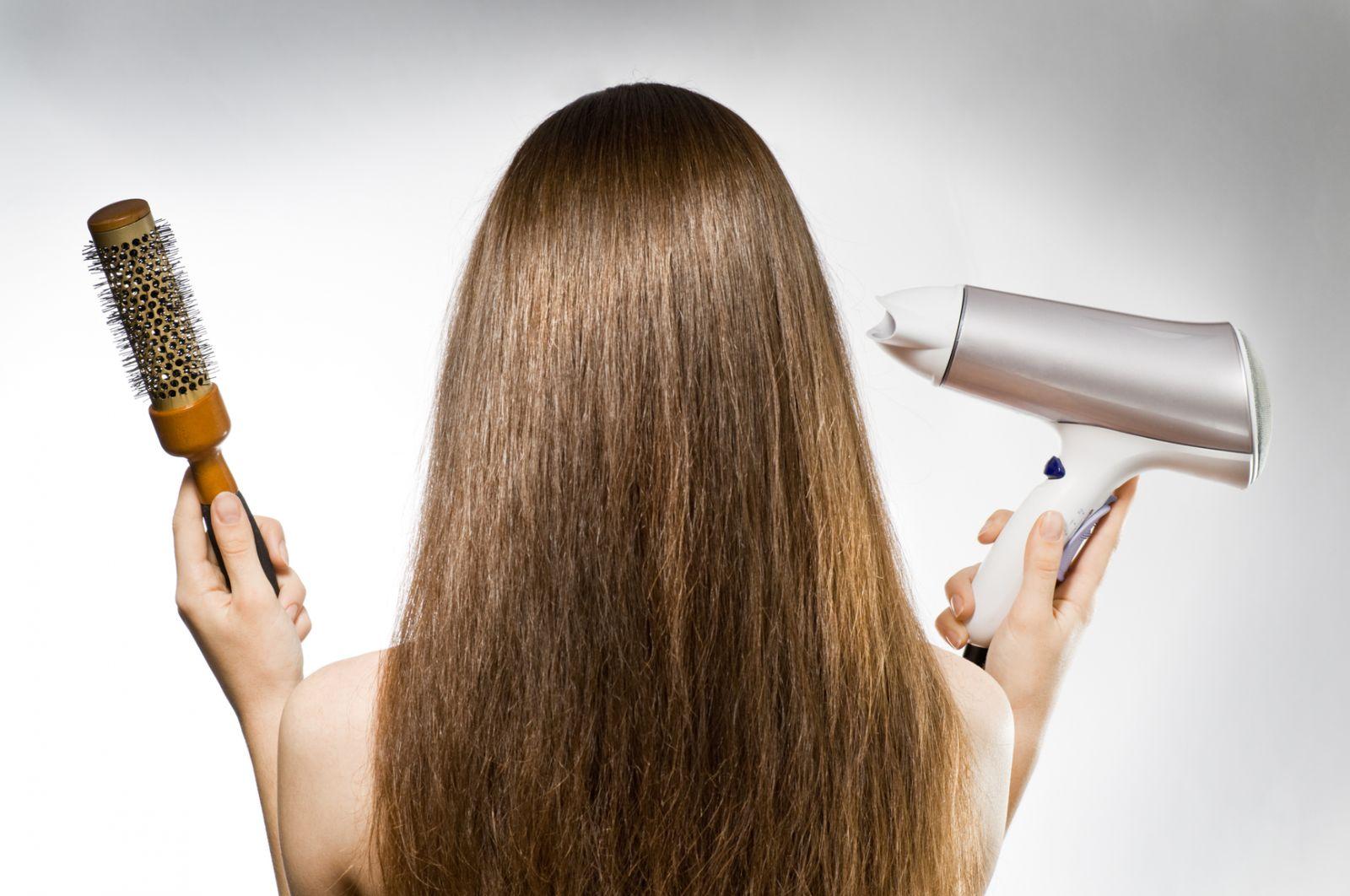 как быстро сушить волосы