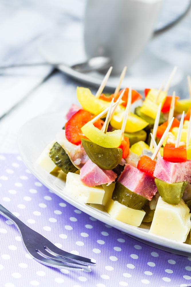 Оригинальные бутерброды на Новый год - фото №1