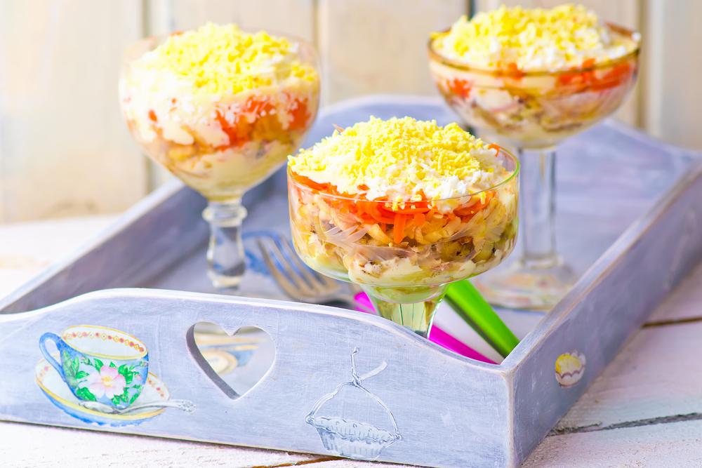 Салат Мимоза: готовим простой, но очень вкусный салат - фото №4