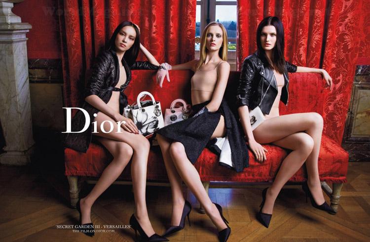 Как изменились представления об идеальной девушке Dior: полная версия Secret Garden с Рианной