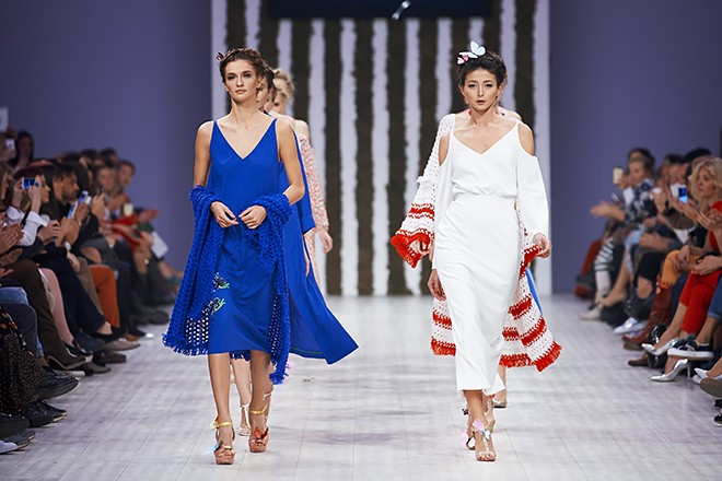 Ukrainian Fashion Week: коллекция Elena BURBA SS`16