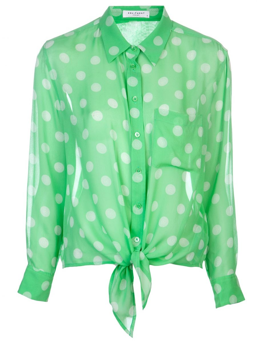 Модные блузки лета 2013: тренды и модели - фото №14