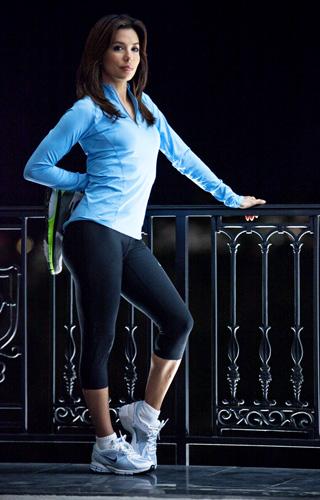 Фитнес со звездой: любимые упражнения Евы Лонгории - фото №1