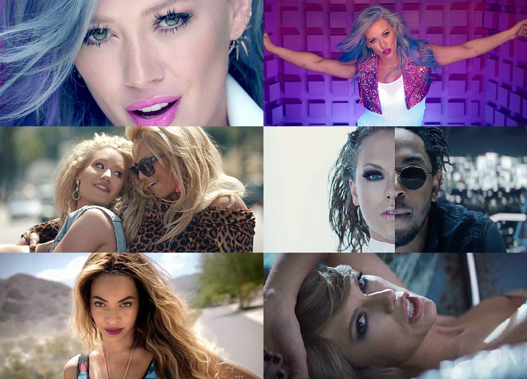 Что посмотреть: новые яркие клипы Бритни Спирс, Бейонсе, Тейлор Свифт и Хилари Дафф - фото №1