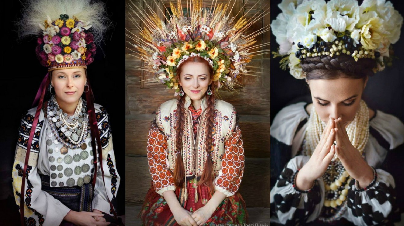 Красивые украинки: современные девушки и женщины в роскошных национальных костюмах - фото №1