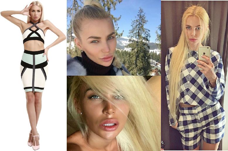 супермодель по-украински 2 блондинка