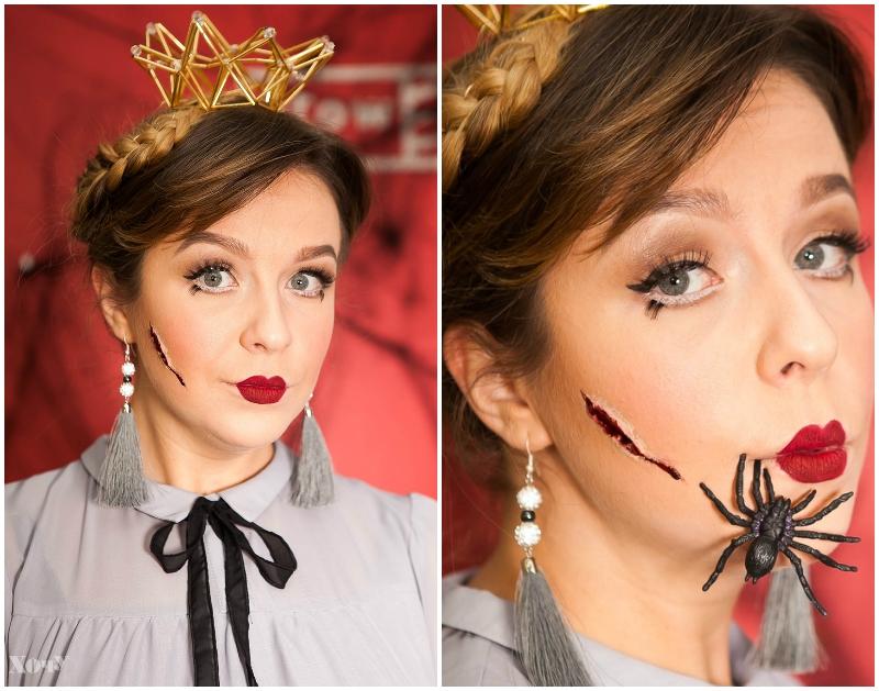 макияж куклы хэллоуин