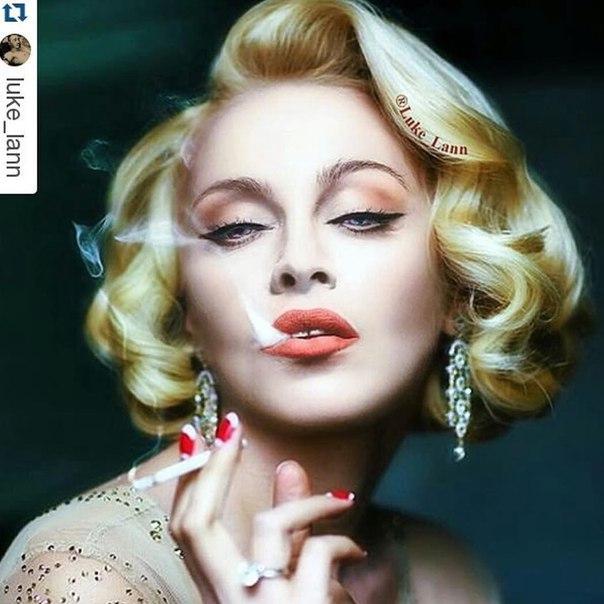 Мадонна выставила в Instagram фото Оли Поляковой: что объединило звездных блондинок - фото №1