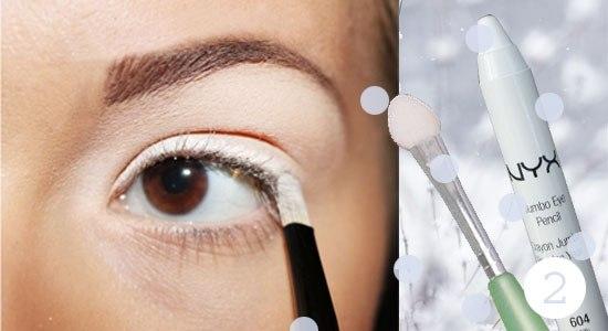 Как сделать снежный макияж глаз: пошаговый фото-урок - фото №3