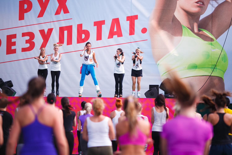 Cостоялась ежегодная фитнес-конвенция Nike - фото №2