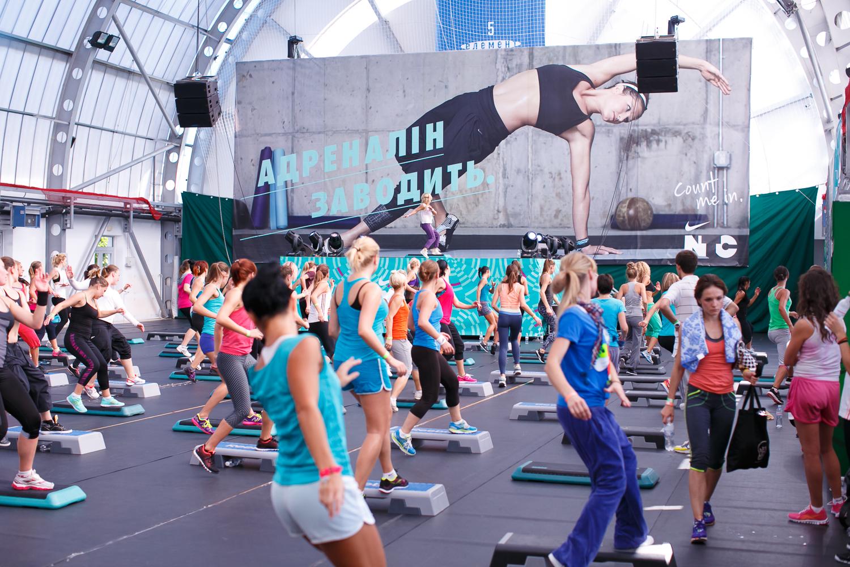 Cостоялась ежегодная фитнес-конвенция Nike - фото №1