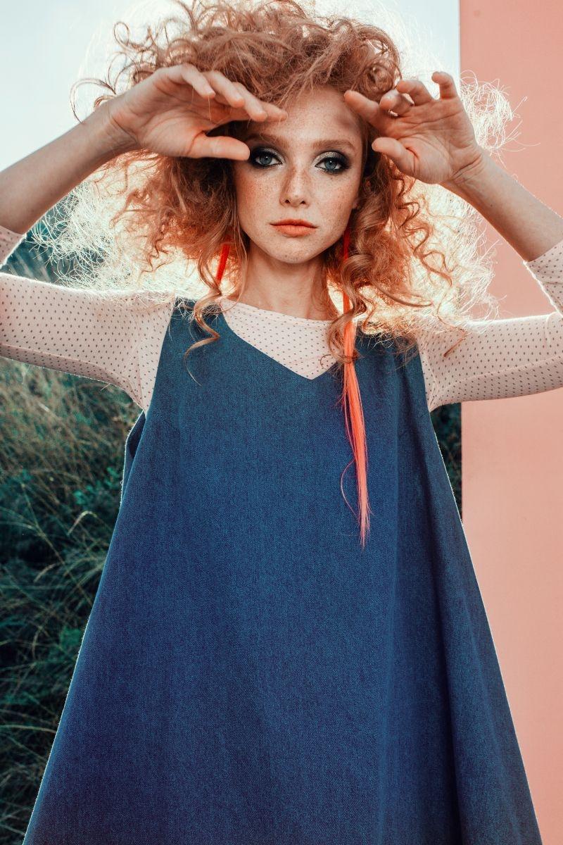Наталья Пиро в «розовой» коллекции Julia Gurskaja