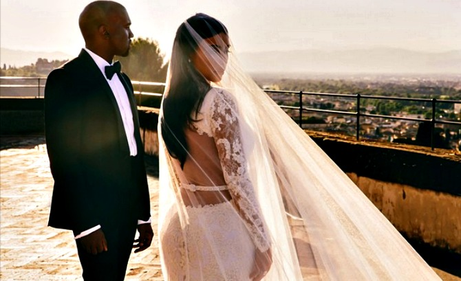 Ким Кардашьян свадьба видео