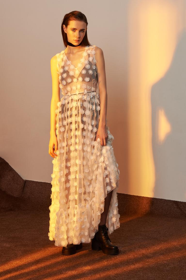 Новый бохо-шик: как носить платья в пол этой весной
