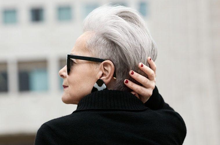 Лин Слейтер икона стиля в 63 года фото