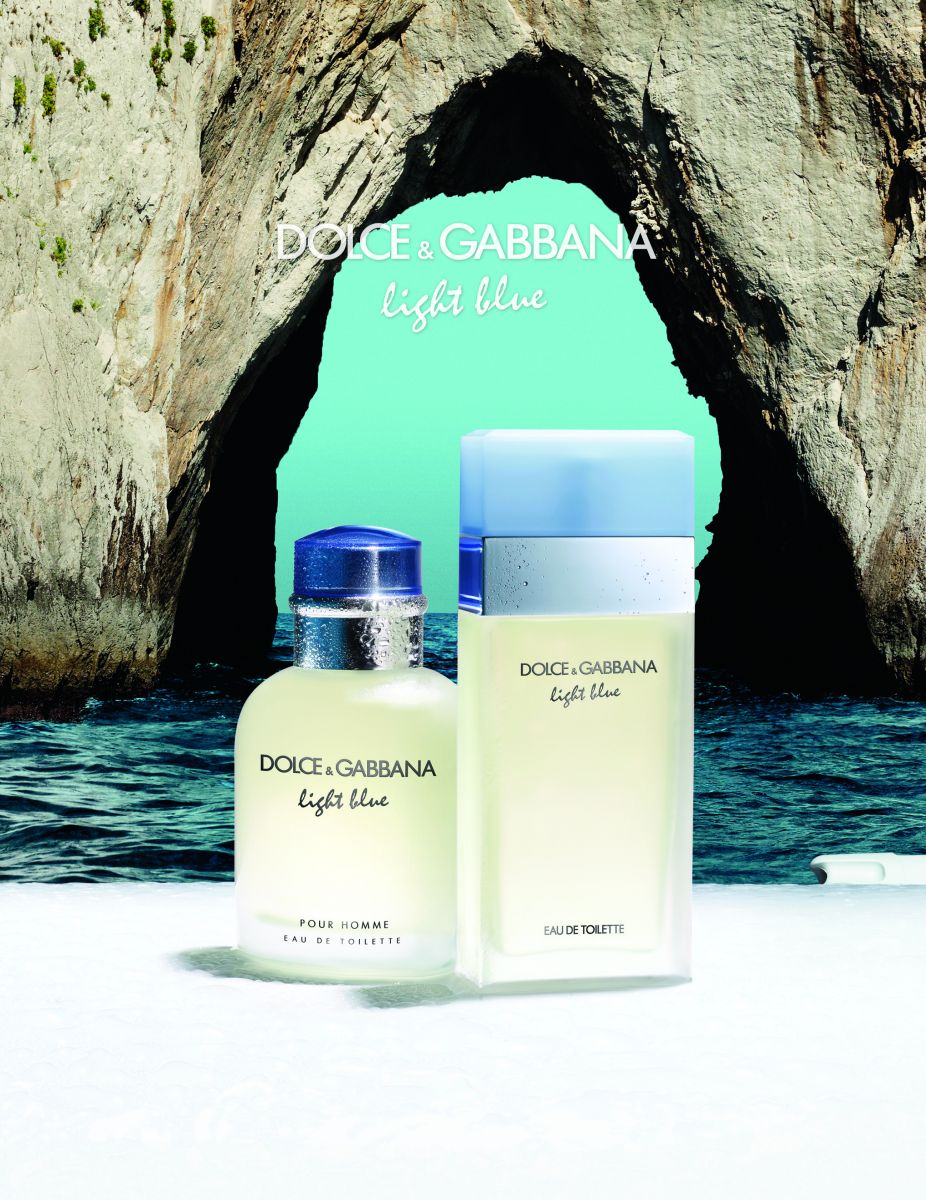 Dolce & Gabbana представит парные ароматы Light Blue Capri - фото №1