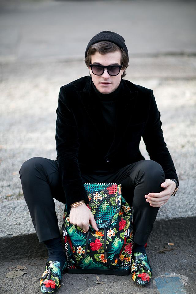 Street style: Неделя мужской моды в Милане, день 4