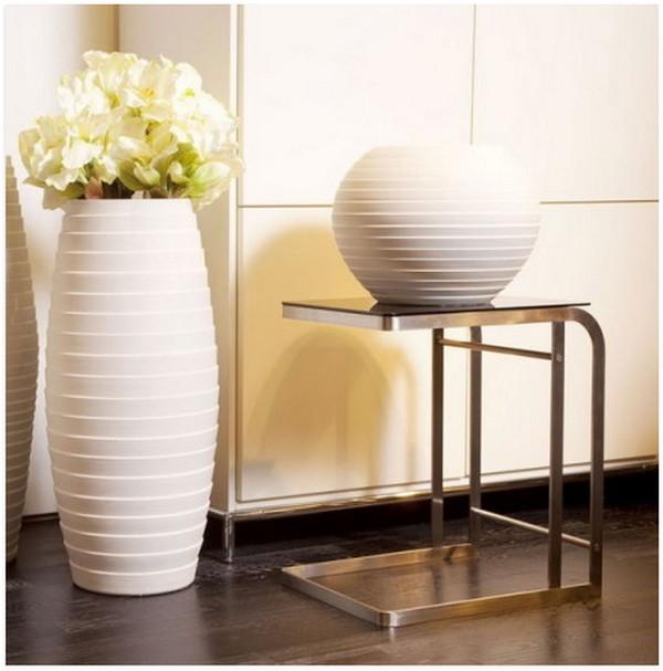 Тренд в интерьере: крупные вазы - фото №3