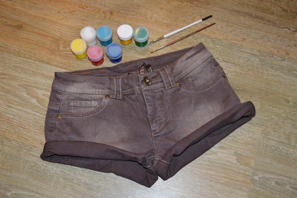 Мастер-класс: делаем шорты с принтами - фото №1