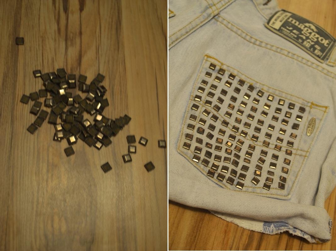 Мастер-класс стилиста: шорты с заклепками - фото №2