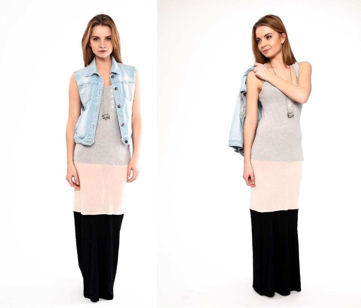 Мастер-класс стилиста: макси-платье из маек - фото №4
