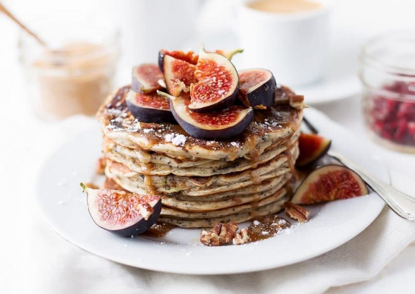 Как приготовить зеленые панкейки, гигантские или веганские: готовим идеальный завтрак вместе - фото №19