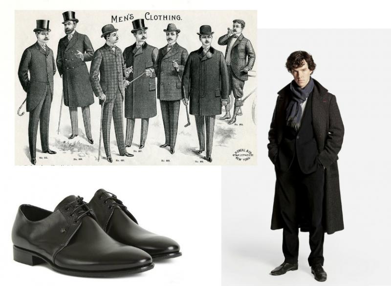 Одеться как Шерлок Холмс: мужской стиль и старое доброе английское ретро