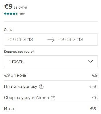 Самые дешевые варианты жилья на airbnb до 20 евро - фото №12