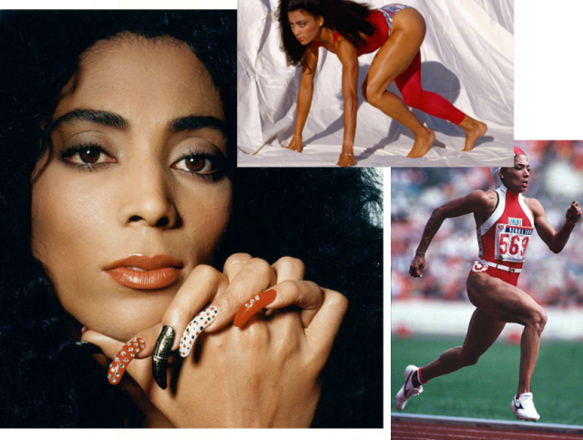 Самые стильные спортсменки Олимпийских игр: Флоренс Гриффит-Джойнер
