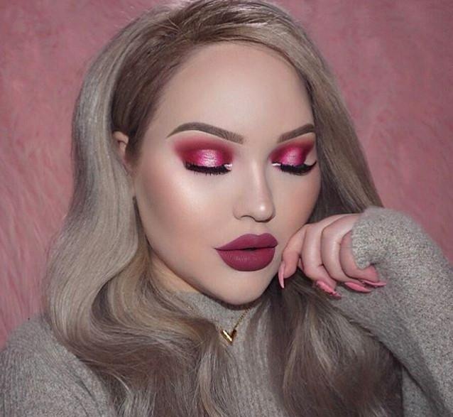 Розовый макияж глаз, как тренд весны 2017 (ФОТО+ВИДЕО) - фото №12