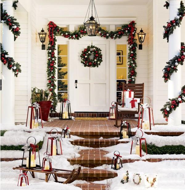 Как преобразить жилище: украшаем дверь к Новому году - фото №2