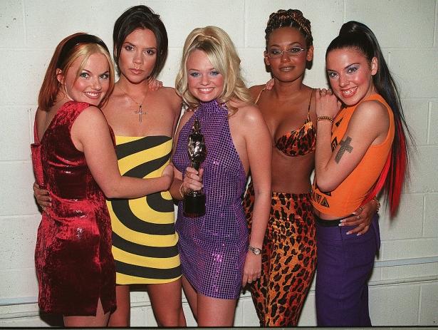 spice girls American Music Awards в 1998 году