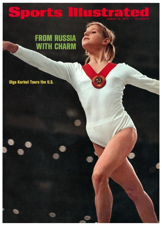 Олимпиада в Рио-де-Жанейро-2016 Ольга Корбут на обложке Sports Illustrated