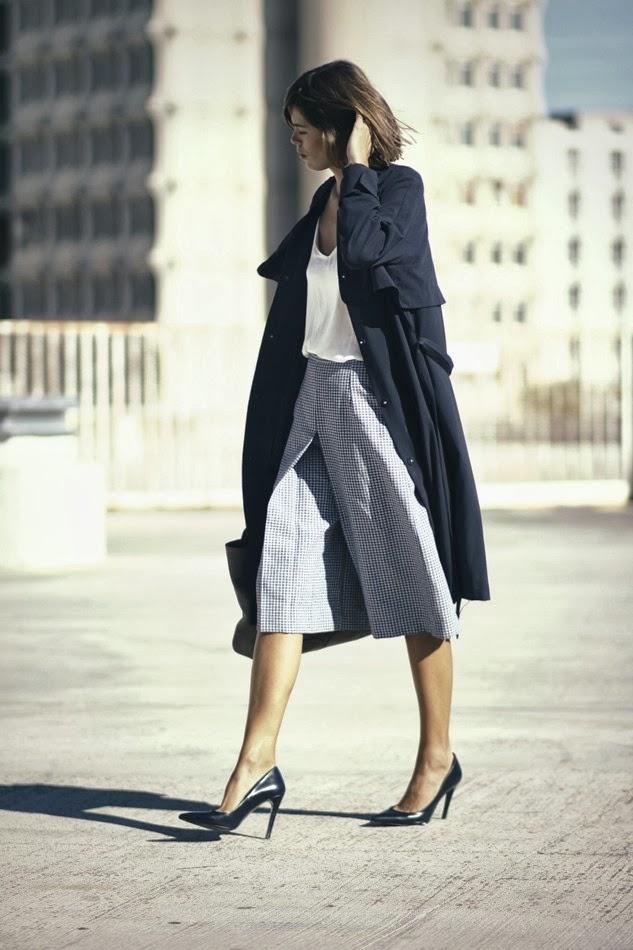 Тренд: модные брюки-кюлоты - фото №24